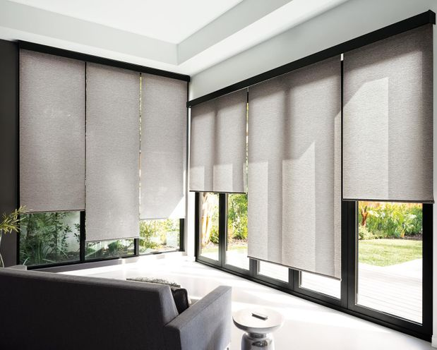 Window Treatments -Roman Shades